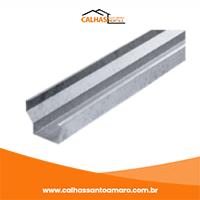 Calha de Alumínio Preço